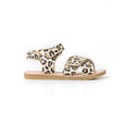 pretty brave child sandal leopard side