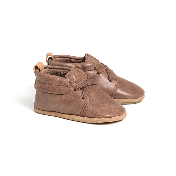 oxford-mocha-pair-baby-shoe-Pretty-Brave