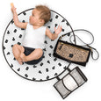 Pretty Brave Roundabout Deluxe change clutch baby bag open