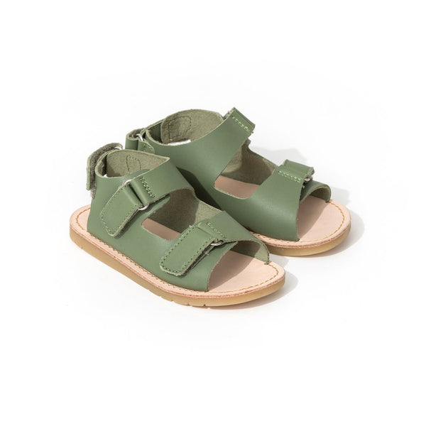 pretty brave child sandal khaki pair