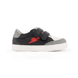 pretty brave black rock xo trainer children sneaker side