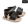 black dragon blake sandal pair Pretty Brave baby shoes for boy