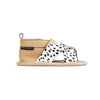 wild spots criss cross sandal side Pretty Brave baby shoes for boy
