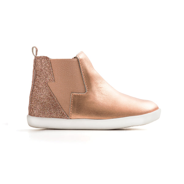 rose gold electric boot Pretty Brave child shoes