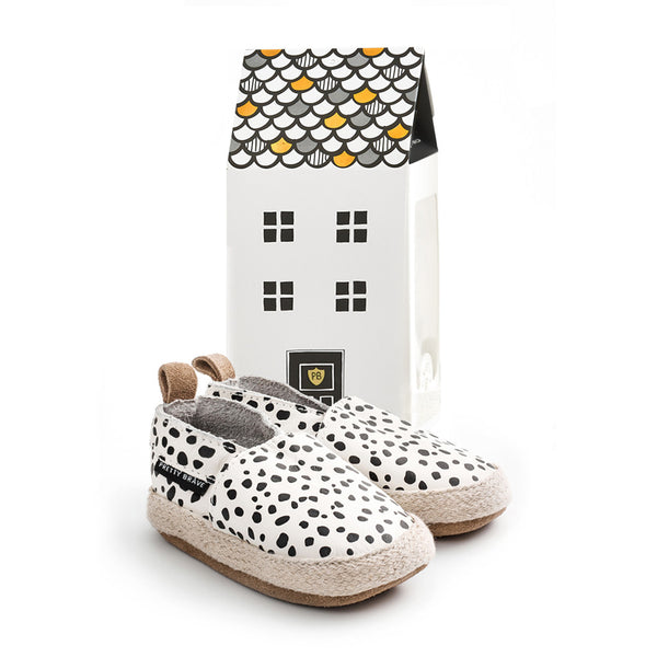 Pretty Brave Wild Spots Espadrille with house box