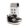black dragon hi-top boot box Pretty Brave baby shoes