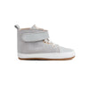 lunar grey hi-top side Pretty Brave baby shoes