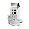 lunar grey hi-top box Pretty Brave baby shoes