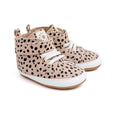 winter spots hi-top pair Pretty Brave baby shoes