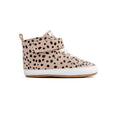 winter spots hi-top side Pretty Brave baby shoes