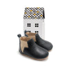 black baby electric boot box Pretty Brave baby shoes