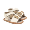 butterfly sandal pair Pretty Brave baby shoes