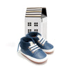 blue nordic boot box Pretty Brave baby shoes