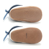 cloudy grey nordic boot soles Pretty Brave baby shoes