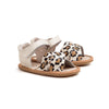 cheetah valencia pair Pretty Brave baby shoes