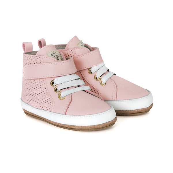cherub hi-top pair Pretty Brave baby shoes