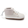 cloudy grey nordic boot side Pretty Brave baby shoes