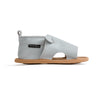 grey mouse menorca sandal side Pretty Brave baby shoes zoo