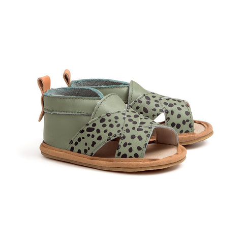 CROSS-OVER SANDAL Jungle Spots