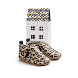 leopard slip-on box Pretty Brave baby shoes