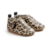 leopard slip-on pair Pretty Brave baby shoes