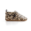 leopard slip-on side Pretty Brave baby shoes