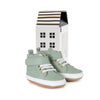 moss hi-top box Pretty Brave baby shoes