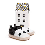 panda espadrille with house Pretty Brave baby shoes