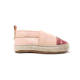 Pink Quartz sandal side Pretty Brave baby shoe