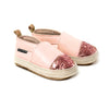 Pink Quartz sandal pair Pretty Brave baby shoe