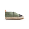 sage espadrille side Pretty Brave baby shoes