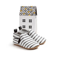 stripe slip-on box Pretty Brave baby shoes