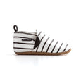 stripe slip-on side Pretty Brave baby shoes