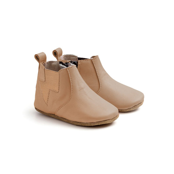 baby-electric-tan-baby-shoe-boot-pair-pretty-brave