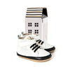 white hi-top box Pretty Brave baby shoes