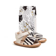 zebra sandal box Pretty Brave baby shoe