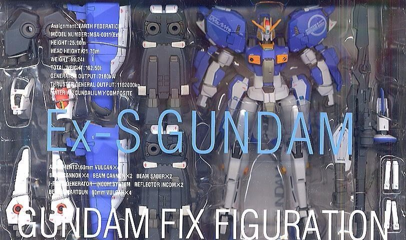 GUNDAM FIX FIGURATION #0011 MSA-0011 (Ext) Ex-S GUNDAM Action Figure BANDAI_2