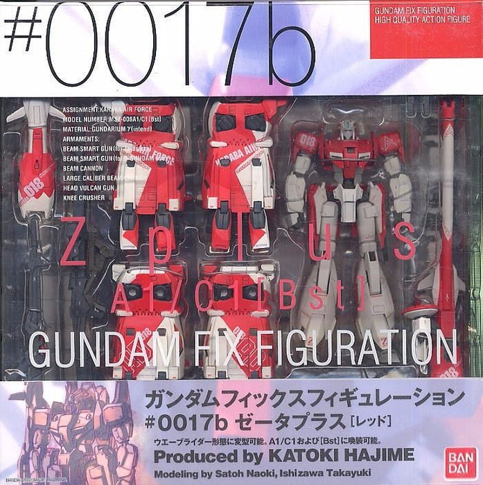 GUNDAM FIX FIGURATION #0017b MSZ-006A1/C1 [Bst] Z PLUS Red Ver BANDAI from Japan_2