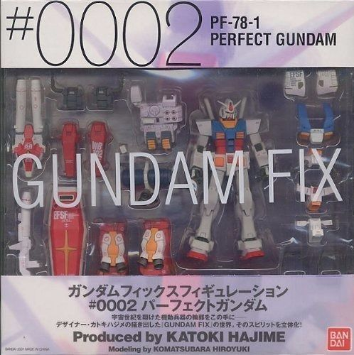 GUNDAM FIX FIGURATION #0002 PF-78-1 PERFECT GUNDAM Action Figure BANDAI Japan_2