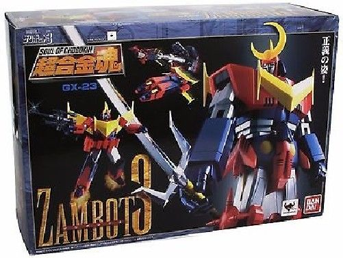 Soul of Chogokin GX-23 Invincible Super Man ZAMBOT 3 Action Figure BANDAI Japan_2