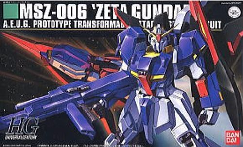 BANDAI HGUC 1/144 MSZ-006 Z GUNDAM Plastic Model Kit Mobile Suit Z Gundam Japan_1