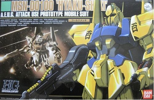 BANDAI HGUC 1/144 MSN-00100 HYAKU-SHIKI Plastic Model Kit Mobile Suit Z Gundam_1