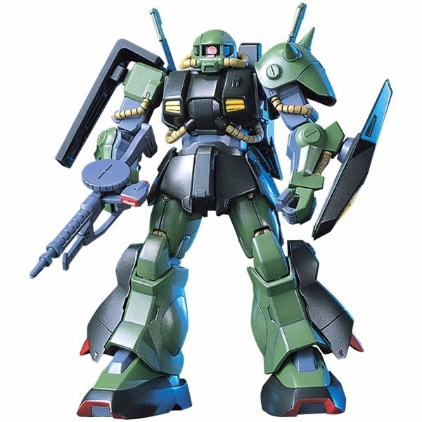 BANDAI HGUC 1/144 RMS-106 HI-ZACK Plastic Model Kit Mobile Suit Z Gundam Japan_2