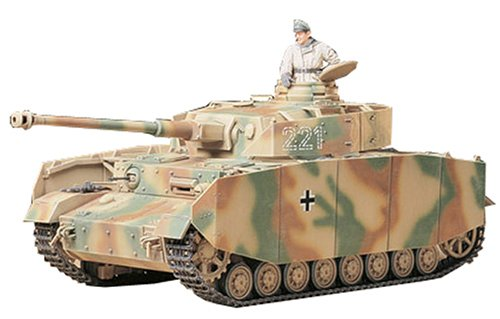 TAMIYA 1/35 German Pz.Kpfw.IV Ausf.H Early Version Model Kit NEW from Japan_1