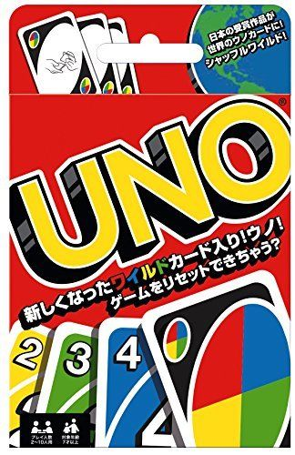 MATTEL Uno UNO card game B 7696 NEW from Japan_1