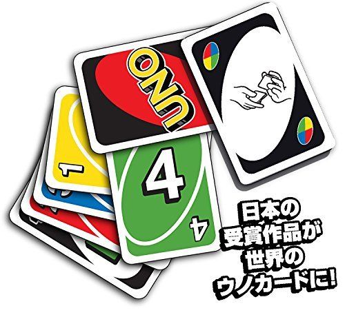 MATTEL Uno UNO card game B 7696 NEW from Japan_3