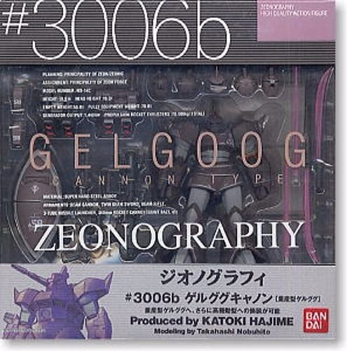 ZEONOGRAPHY #3006b MS-14A/14B/14C GELGOOG CANNON Action Figure BANDAI from Japan_4