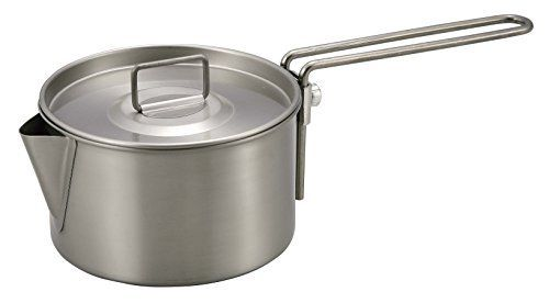 CAPTAIN STAG M-9082 Titanium Kettle Cooker 900ml Outdoor Goods Made in Japan NEW_1