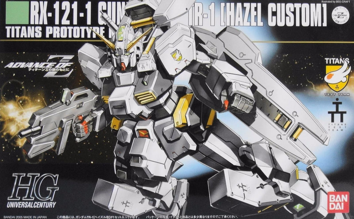 BANDAI HGUC 1/144 RX-121-1 GUNDAM TR-1 HAZEL CUSTOM Plastic Model Kit from Japan_1