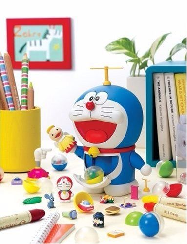 Chogokin Gacha Gacha DORAEMON Action Figure BANDAI NEW from Japan_1